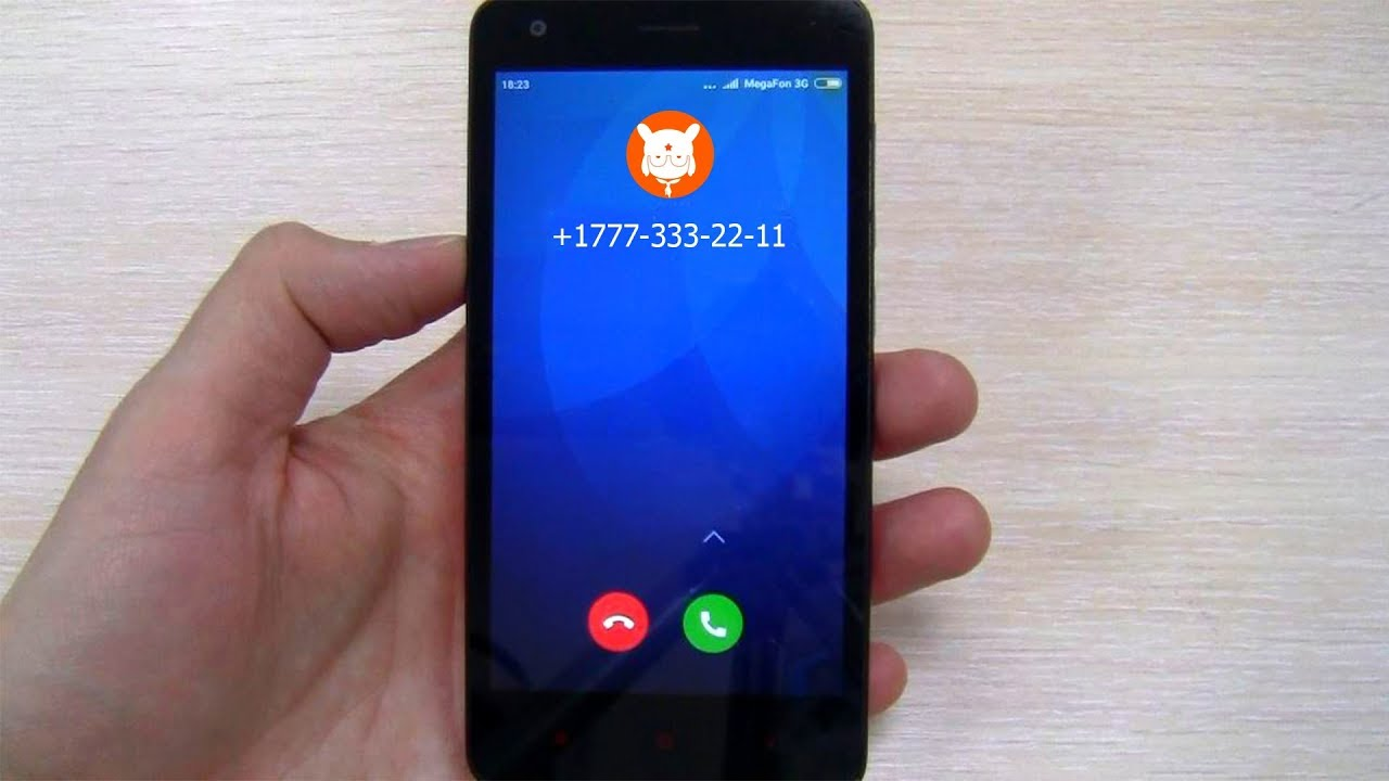 Incoming call XIAOMI Redmi 2 ringtone