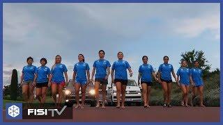 Le polivalenti di Coppa Europa all'opera a Cesenatico