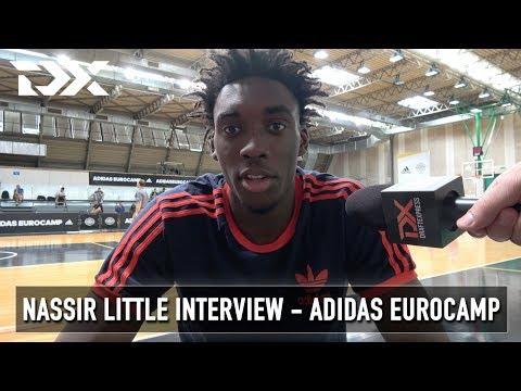 Nassir Little Interview - Adidas Eurocamp