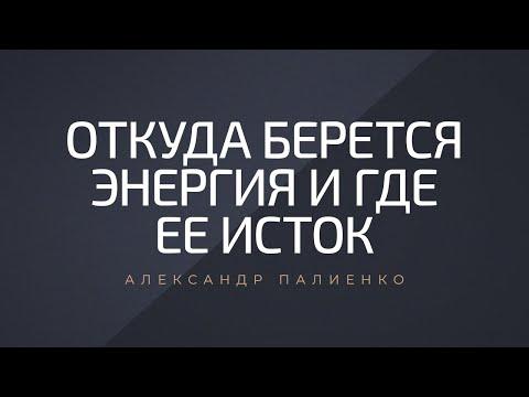 Откуда берется энергия и где ее исток. Александр Палиенко.