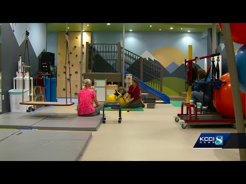New addition to Blank Children's Hospital brings fun to physical therapy