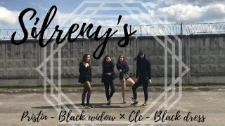 pristin - black widow x clc - black dress   SILRENY's dance cover