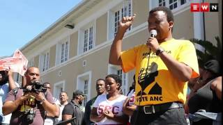 Protesting institutional racism, University of Cape Town students occupied the campus administration buildings, demanding transformation begin immediately after handing over a memorandum.