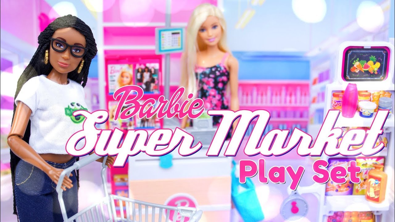 Unbox Daily: Barbie Supermarket Play Set
