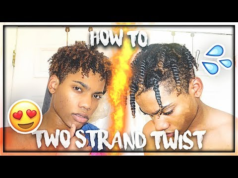 How to TWO STRAND TWIST | Curly Hair Routine ( EASY Tutorial)