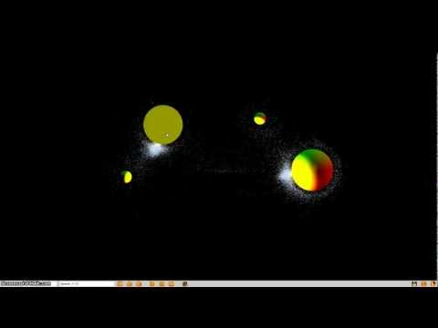 Firefox WebCL : Partying Particles [Demonstrations}