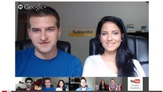 YouTube Creator Academy - Archived Hangout #3