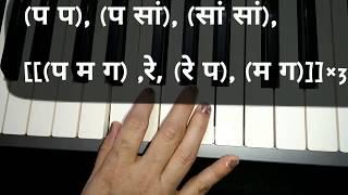 Notations of Main Zindagi ka sath
