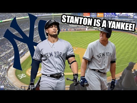 Giancarlo Stanton Traded to the New York Yankees! World Series Simulation! - MLB The Show 17