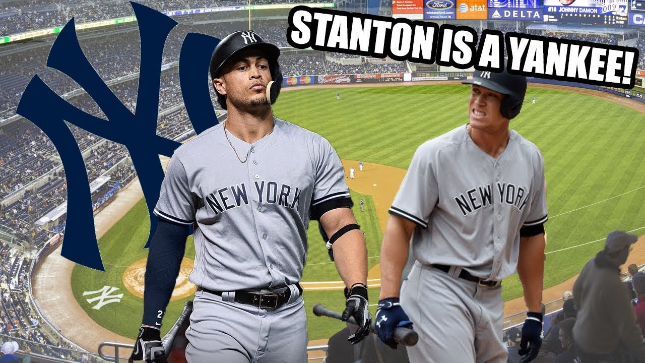 16513fdb3 Giancarlo Stanton Traded to the New York Yankees! World Series Simulation!  - MLB The Show 17
