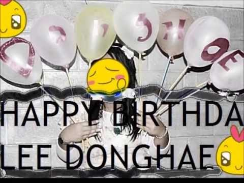 Project Birthday Donghae Lee Donghae Bday Project by