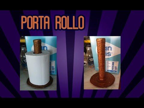 Porta Rollo Cocina | Porta Rollo De Papel Toalla O Papel De Cocina Youtube