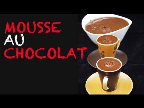 Mousse au Chocolat - recette inratable