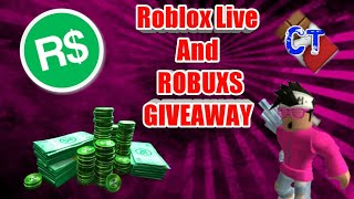 🔴Roblox Live #87🔴ROBUXS GIVEAWAY AGAIN