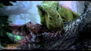 Tyrannosaurus Rex (T-Rex) vs. Spinosaurus Scene - Jurassic Park 3