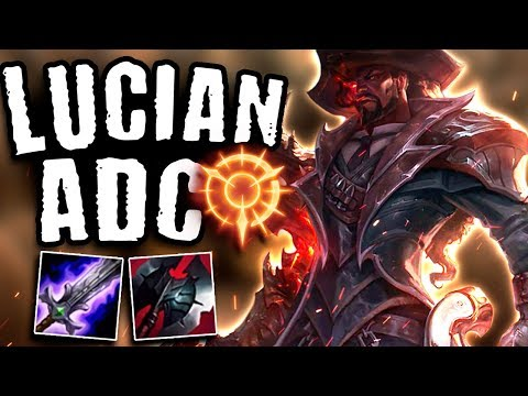 IS LUCIAN THE BEST ADC FOR SEASON 9?! - Lucian ADC - League Of Legends