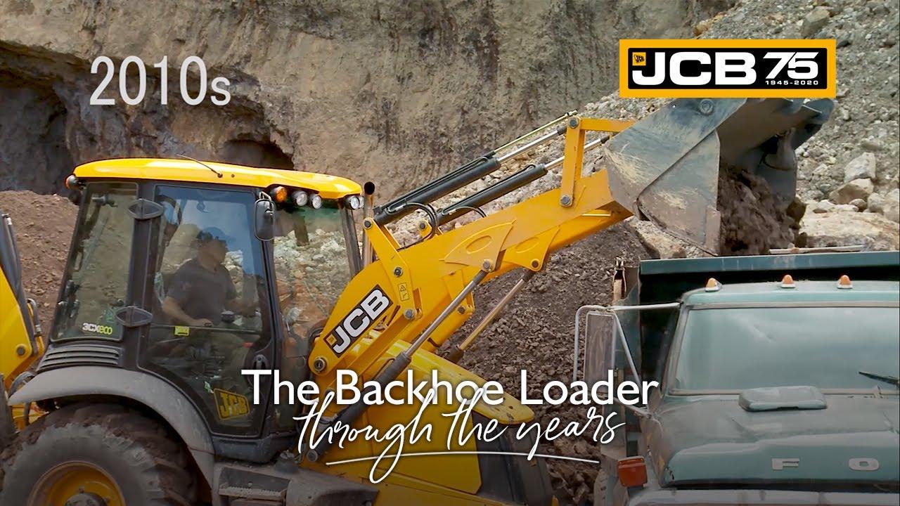History of the JCB Backhoe Loader - 2010s