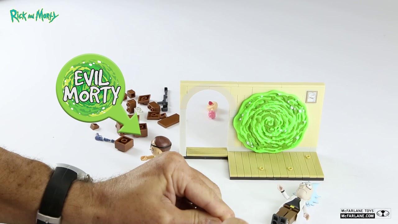 McFarlane Toys Rick and Morty Evil Rick and Morty Small Building Set