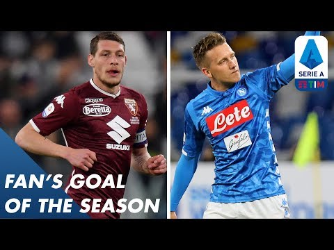 Fan's Goal of the Season | Group F | Serie A
