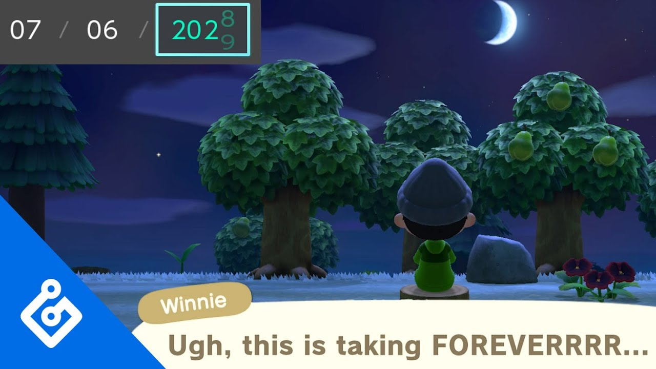 The Ethics Of Time Travel In Animal Crossing Youtube