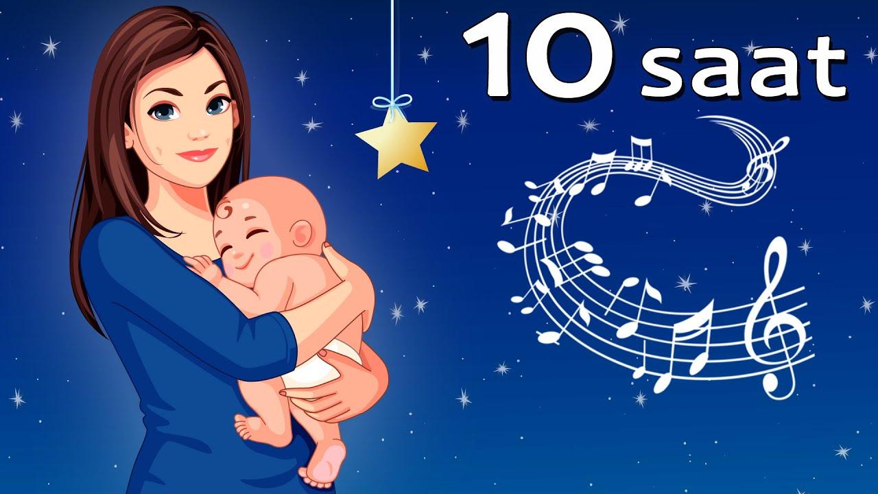 En Çabuk Bebek Uyutan Müzik - 10 SAAT 💤 Uyutan Ninniler 👶 Minik Bebek