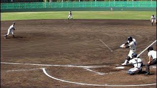 2018.4.28 高校野球 春季大会 大阪桐蔭 根尾昂君 左中間へのすごいホームラン