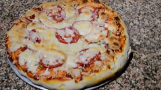 How to Make a Veg Pizza at home  Simple Pizza Recipe