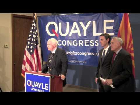 Schweikert Wanted McCain Endorsement