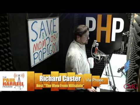 Richard Caster talks Arkansas politics with Paul Harrell 2-27-17