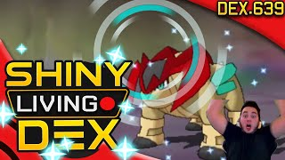CRAZY EPIC SHINY TERRAKION! 1 SOFT RESET! Live Reaction! Shiny Living Dex #639 | Pokemon ORAS