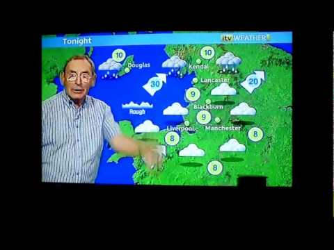 FRED TALBOT ITV1 WEATHER MAN