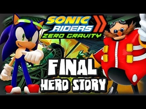 Sonic Riders Zero Gravity - (1080p) Hero Story - Part 2 FINAL