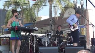 OZMA perform Shooting Stars at the 2012 Pasadena 'Make Music Festiv...