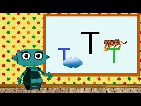 🎓 Учим звуки речи вместе с роботом Дашей. Звук Т. Урок 22 (0+)
