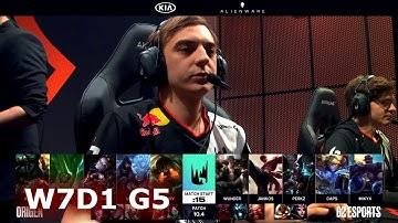 Origen vs G2 Esports | Week 7 Day 1 S10 LEC Spring 2020 | OG vs G2 W7D1