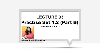 Lecturer 03 : Std 10 Ch.No.01 Similarly Practice Set 1.2 (Part B)