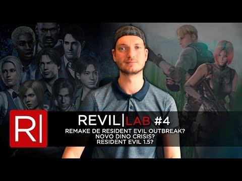 REVIL Lab #4 - Remake de Resident Evil Outbreak? Novo Dino Crisis? Resident Evil 1.5?