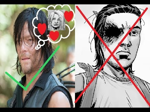 The Walking Dead Season 9 - Can Daryl Take Comic Book Carl's Role?
