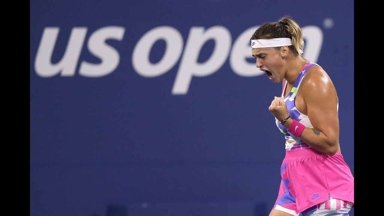 Aryna Sabalenka | Top 10 points of US Open 2020