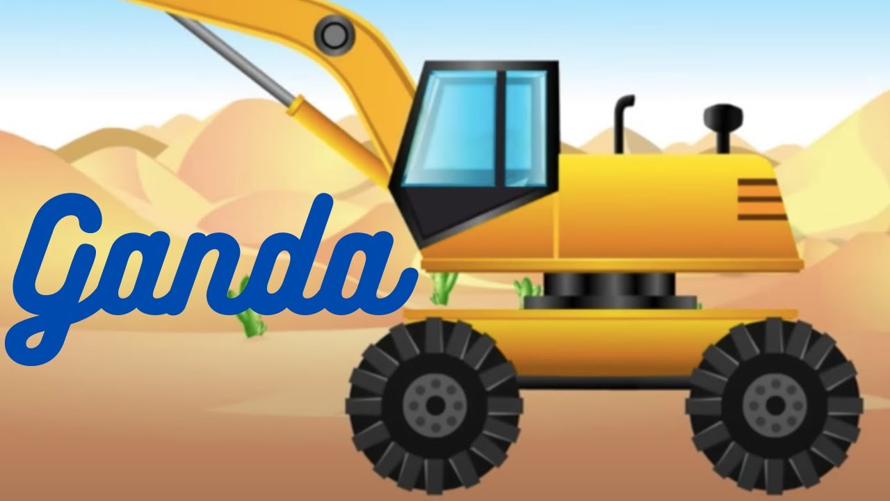 Ganda ganda – Tractor isiZulu Nursery Rhyme   South African Music for Kids   Zulu Kids Songs