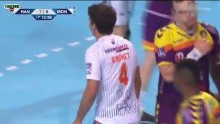 Nantes VS Montpellier Handball Coupe de la Ligue 2015 2016 demi-finale