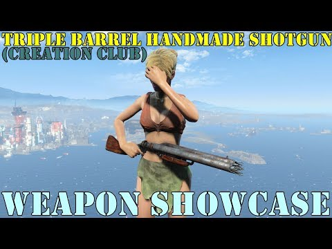 Fallout 4: Weapon Showcase: Handmade Shotgun (Creation Club)