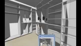 Проект гардеробной комнаты на заказ в Киеве.(, 2015-09-30T14:49:37.000Z)