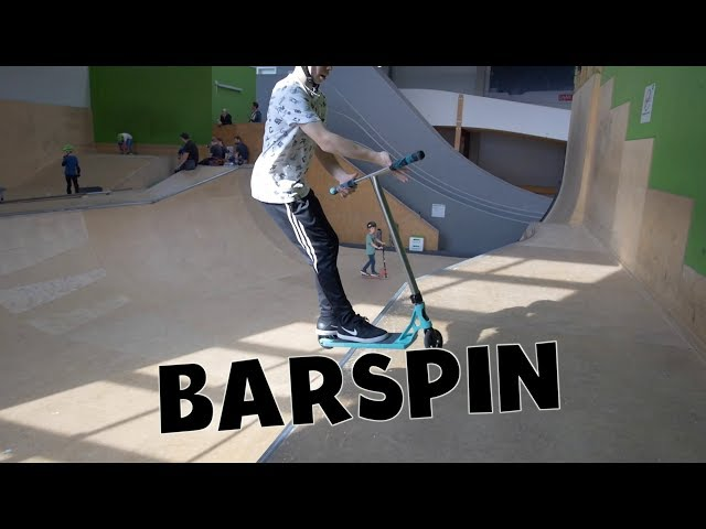 Scooter Tutorial - BARSPIN // Freestyle Academy Stuttgart