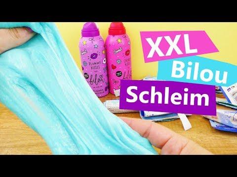 Xxl Bilou Schleim Ohne Kleber Mega Schleim Rezept Super Einfach