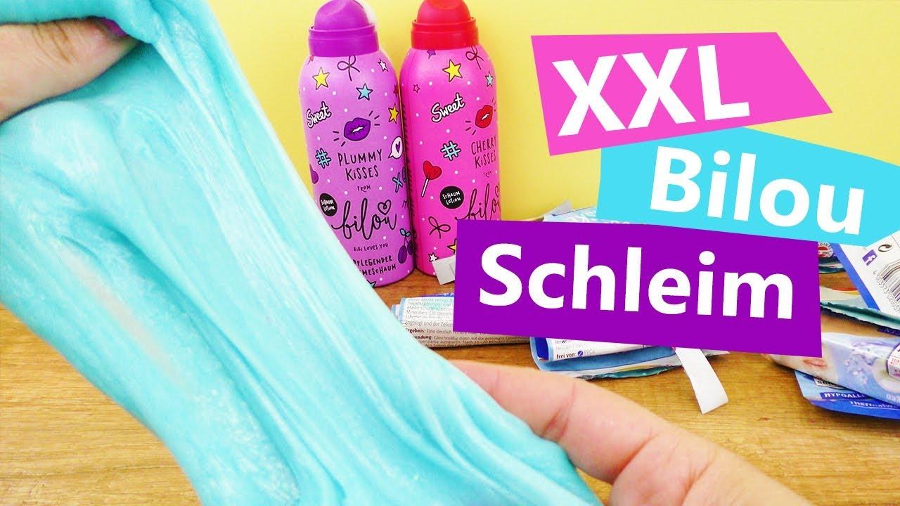 Super XXL Bilou Schleim OHNE Kleber | Mega Schleim Rezept | Super UE38
