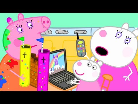 Peppa Pig Official Channel | Making a Real Fairy Palace for School
