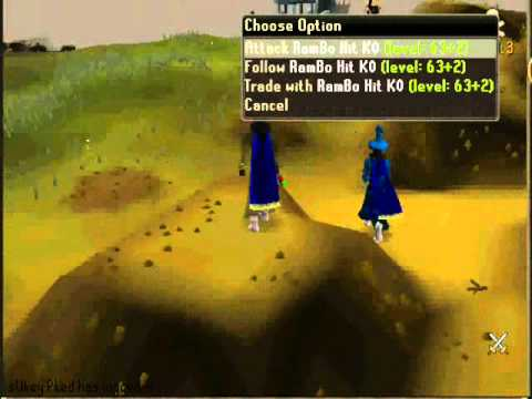 Runescape Old/Oid FaMe Twin Rushing pk vid 1