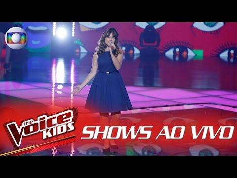 Giulia Soncini canta 'We don't talk anymore' no The Voice Kids Brasil - Shows ao Vivo