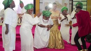 Ms Arunma Oteh's 50th Birthday Dance to D'Banj Song